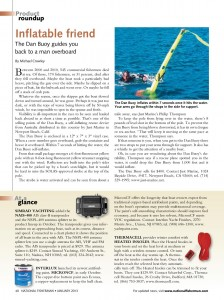 screen capture of article about man overboard buoy