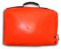 Life raft valise back view