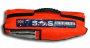 Life raft valise top view