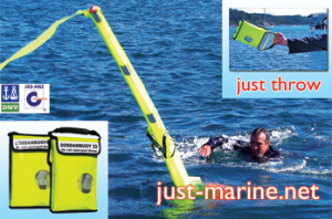 throwable man overboard buoy