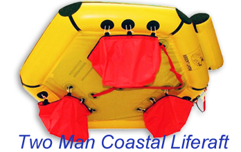 two man coastal liferaft