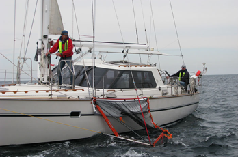 man overboard recovery for sailboats
