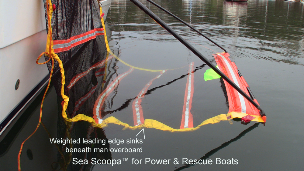 Man Overboard Recovery Sea Scoopa Just Marine