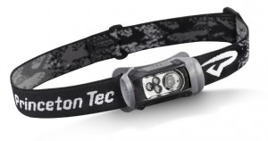 LED headlamp with red and white LEDs