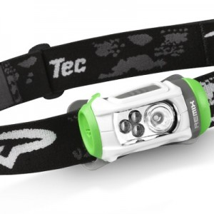 Headlamp with red LEDs and white LEDs