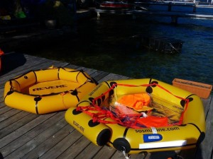 Revere and SOS Marine Coastal Life Rafts comparison