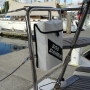 dan buoy mounting bag mounted aft, near helm