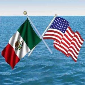 us-mexico-waving-flag-on-ocean