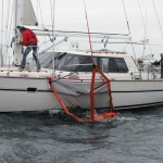Shows Sea-Scoopa Man Overboard Recovery for Sailboat