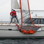 Sea Scoopa used for man overboard recovery on sailboat