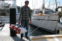 man overboard recovery device for sailboats, Sea Scoopa, in carrying bag