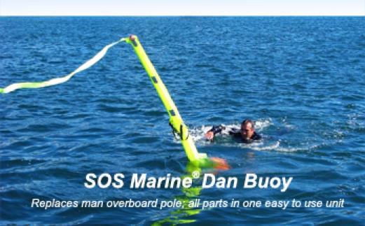 SOS Dan Buoy Man-Overboard Marker