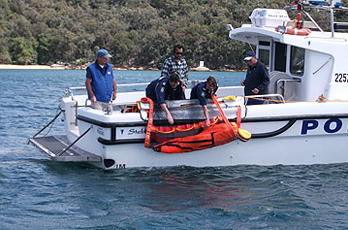 Sea Scoopa for professional man overboard retrieval