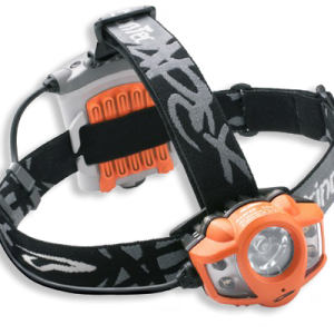 waterproof headlamp with light emitting diodes