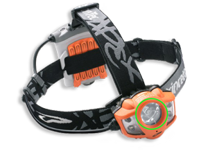 Low power LED spot light headlamp