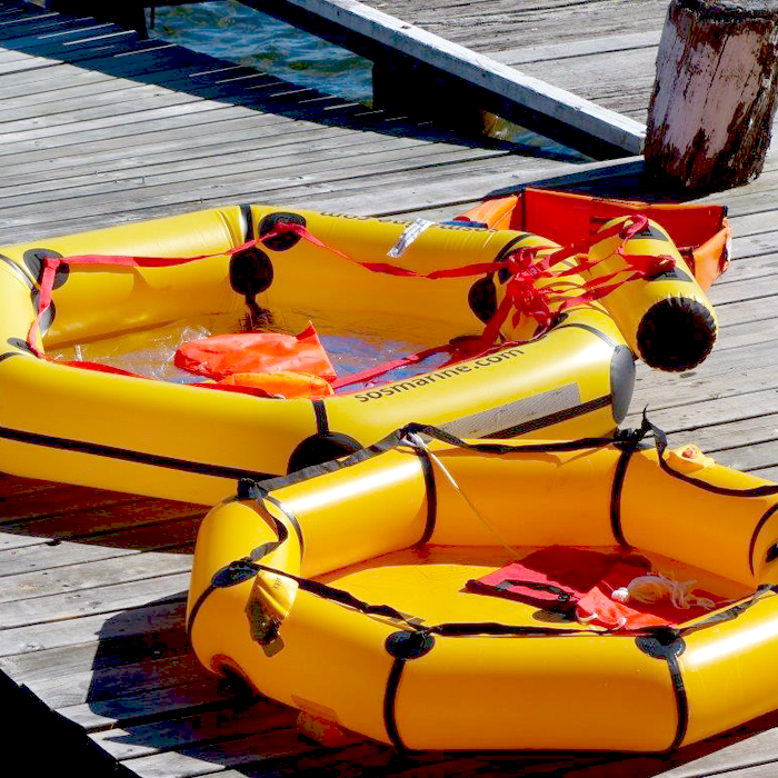 2 man coastal life raft comparison