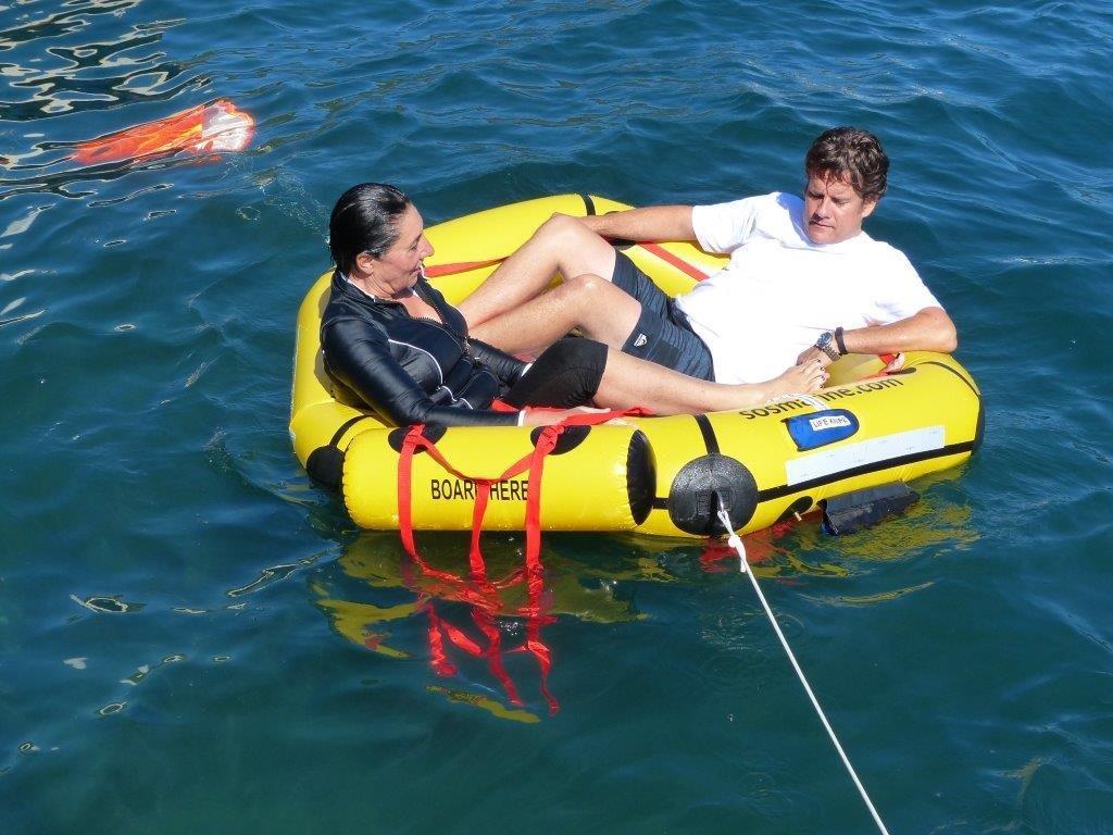 sos marine coastal life raft