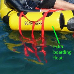 life raft ladder