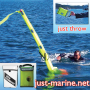 man overboard dan buoy with flexible PVC mounting bag