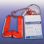 Man overboard retrieval device called Reelsling