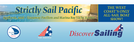 2016 Strictly Sail show banner