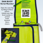 where to find dan buoy serial number